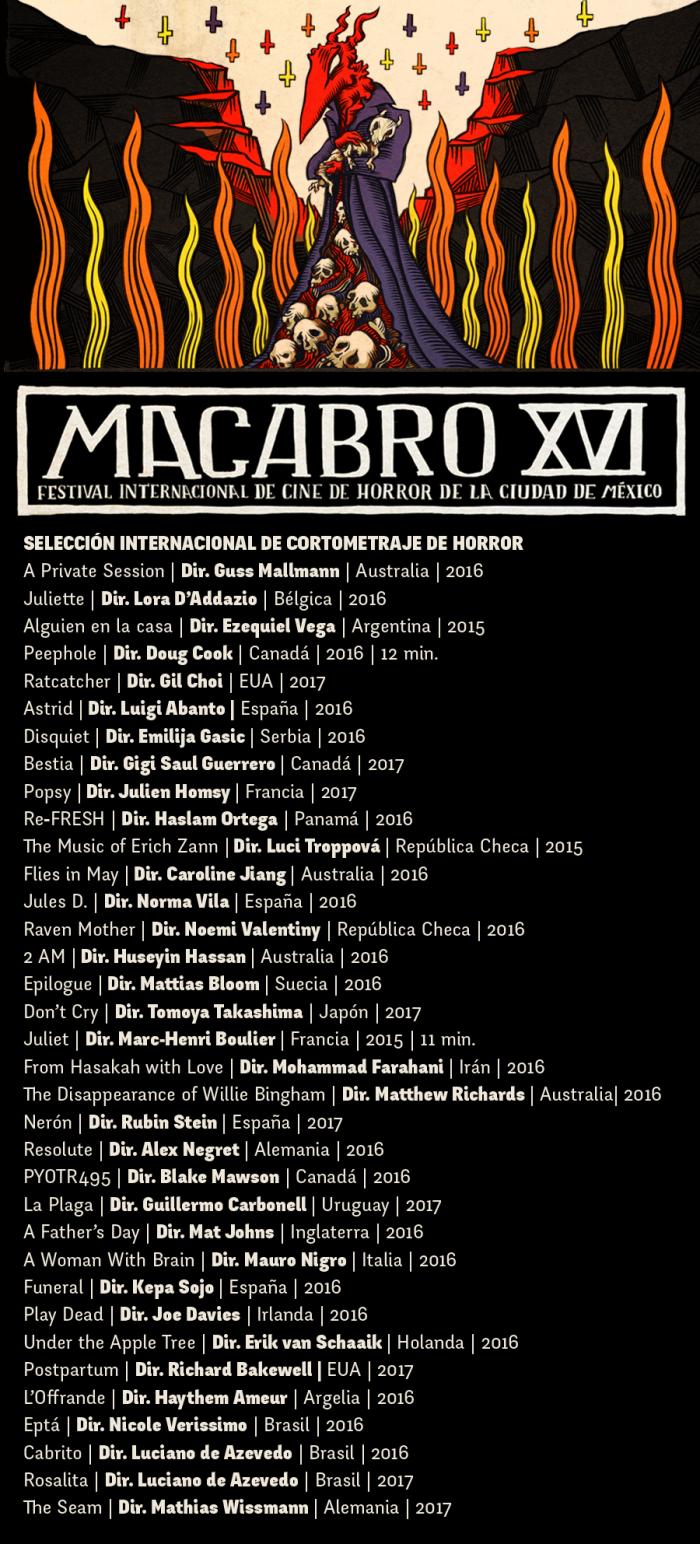 seleccionados cortometraje internacional