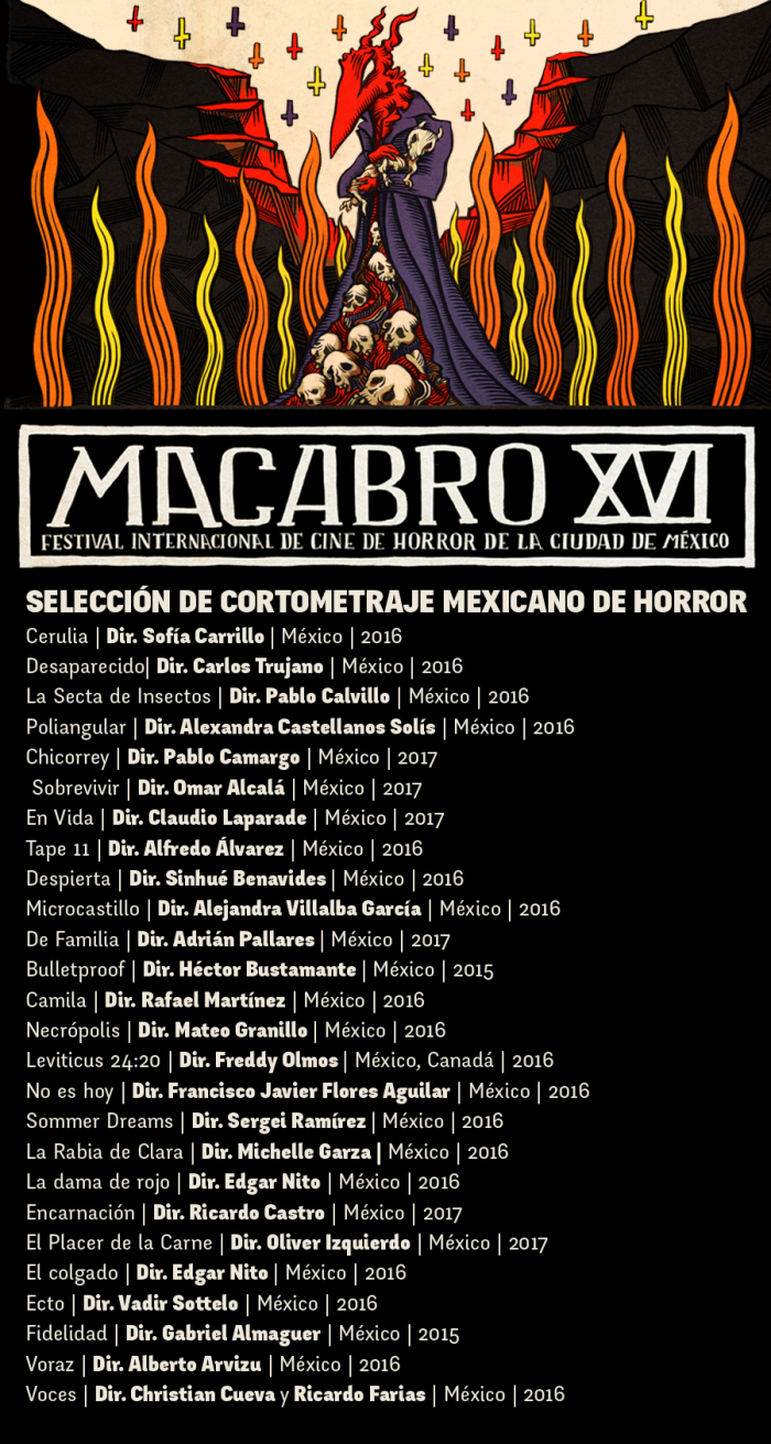 seleccionados cortometraje mexicano